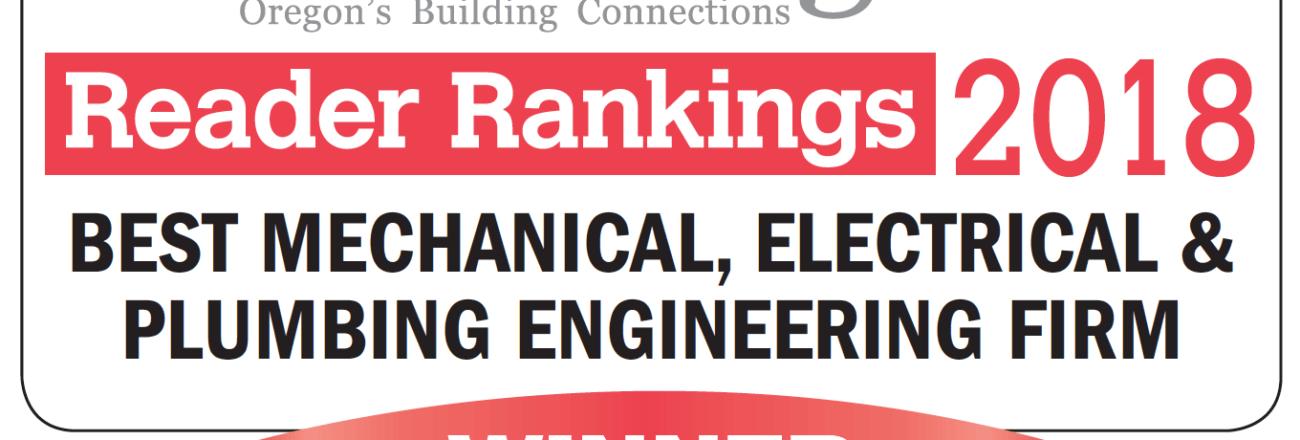 Best MEP Engineering Firm 2018