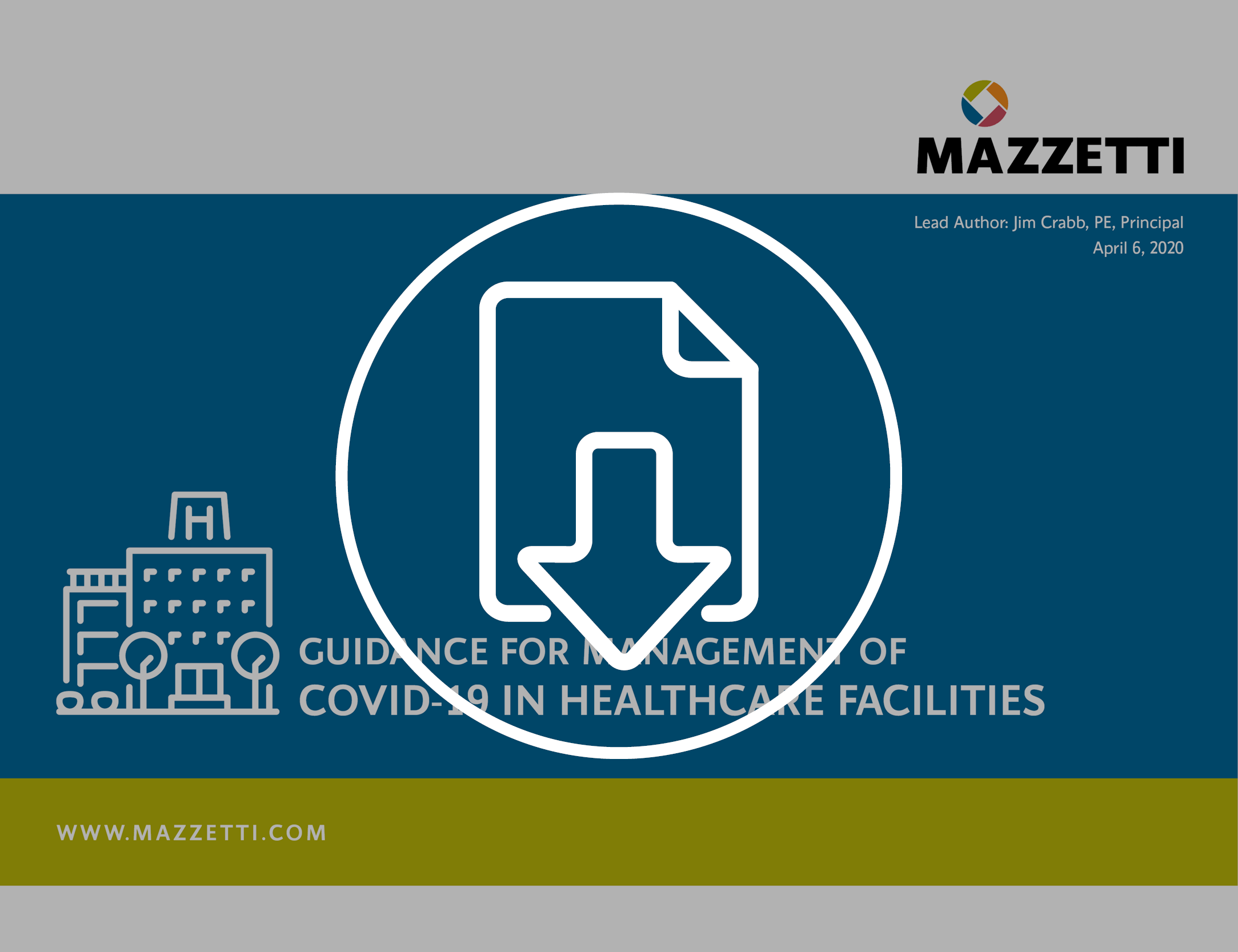 Guidance for Management of COVID-19 for Healthcare Facilities